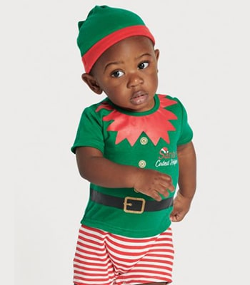 Christmas elf romper set