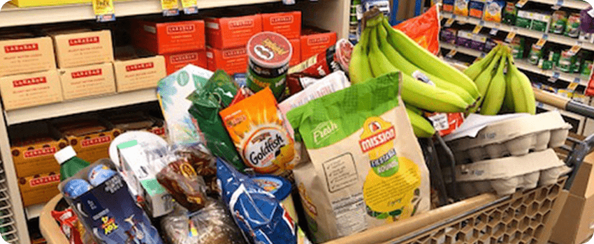 avoid visiting grocery store when hungry
