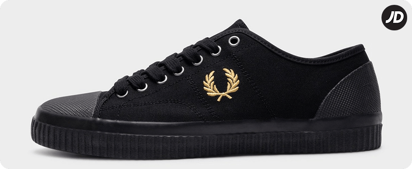 fred perry hughes sneakers