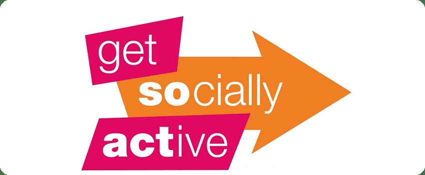 get more socially active