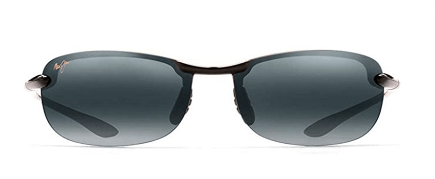 rimless frame sunglasses