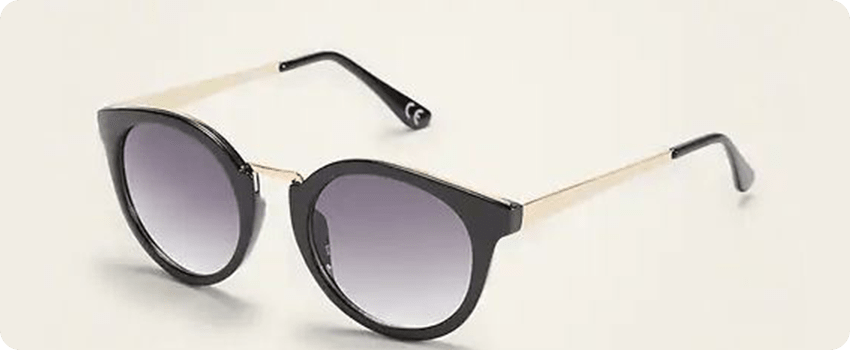Round acryclic sunglasses from old navy