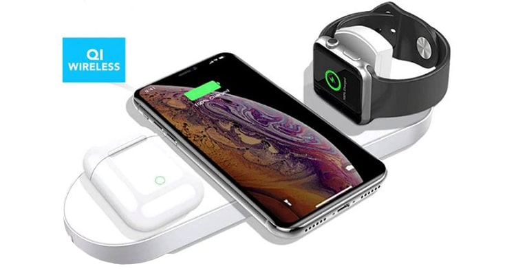 Orotec Triple Wireless Charging Stand