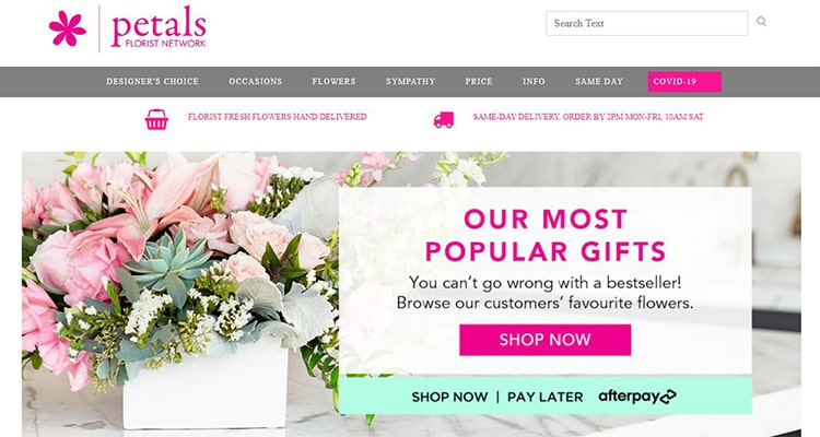 petals cheap flower delivery service