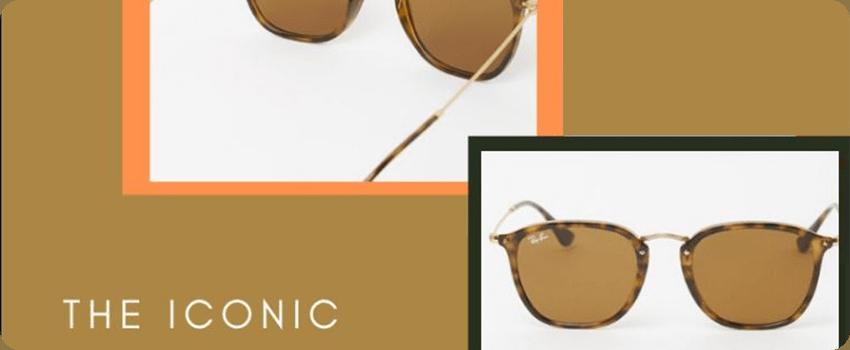 the iconic sunglasses