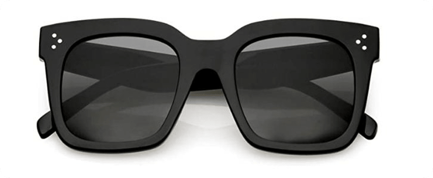 zero uv retro oversized square sunglasses