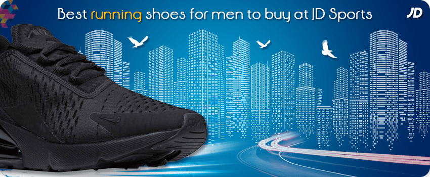 best running shoes for men at Jd sports
